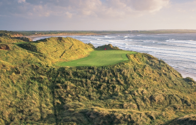 The original 14th hole at the old Doonbeg