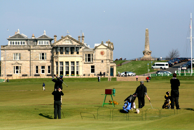 stay and play st andrews old course