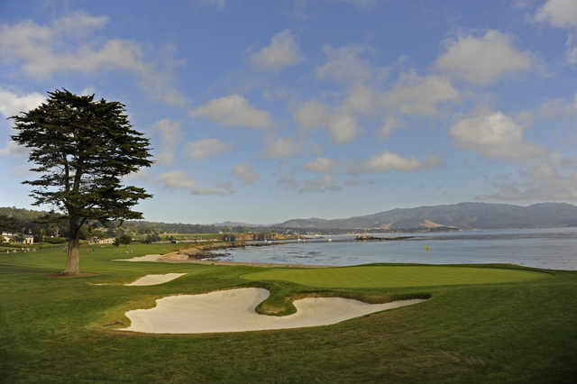 Where Is Pebble Beach Golf Course Located In California