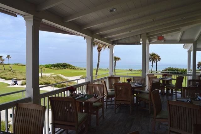 Inside The Clubhouse At Palm Beach Par 3 Is Al Fresco Restaurant