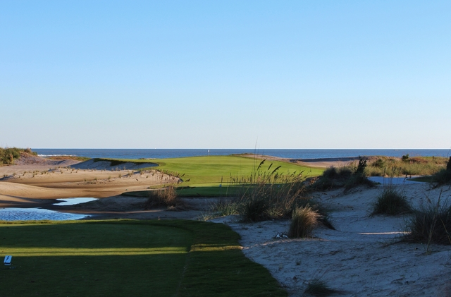 No. 18 on the Links course at Wild Dunes Resort