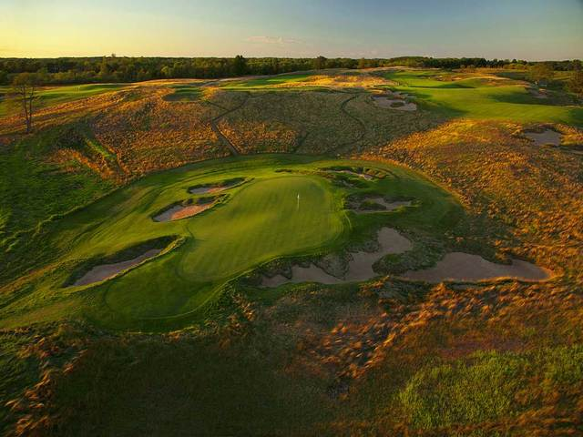 Play US Open Host Erin Hills While You Can Golf Advisor - Us open erin hills map