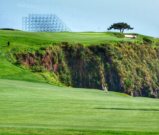 Matt Ginella A View Of The Intimidating Par 5 6th Hole At Pebble Beach Mike