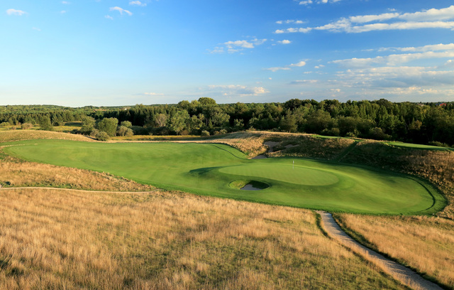 Play Where The Pros Play At The Six US Open Courses Open To The - Erin hills us open map