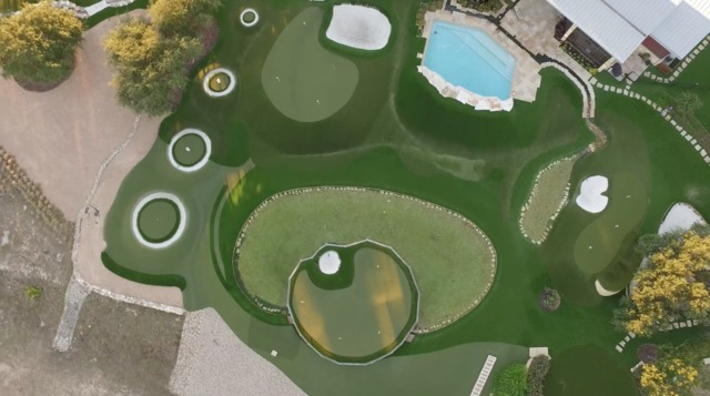 Dave Pelz on tips to install a great backyard short game green ...