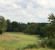 The 4th hole is one of Charlie Vettiner Golf Course's many narrow fairways.
