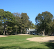 Oyster Bay Golf Links' 11th hole is a long par 4 playing up to 450 yards.