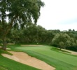 Valderrama Golf Club's signature trait is its small, raised greens defended by heavy bunkering and cork trees.