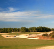 No. 14 on Barefoot Resort's Fazio Course can be deadly if you find the waste bunker lining the entire left-hand side.