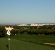 Arcos Gardens Golf Club lies just outside of Arcos De La Frontera, which is in view from many spots on the golf course.