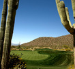 The sixth hole on the Ritz-Carlton Golf Club at Dove Mountain Tortolita Course was a drivable par 4 by the tour pros at the WGC Accenture Match Play Championship.