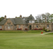 No. 18 at Longniddry Golf Club finishes back up towards the clubhouse.