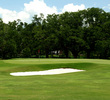 The finishing hole at Audubon Park Golf Course is one of two short par 5s on this par-62 layout.