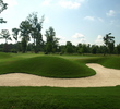 On the first hole you get a feel for Pete Dye's bunkering at the TPC Louisiana in Avondale.