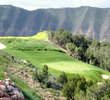 Lakota Canyon Ranch & Golf Club's No. 9 is a par 3, 205-yarder cascading into oblivion to the right.