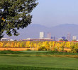 The golfer sees Downtown Denver from No. 15 looking toward the No. 4 green.