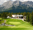 Silvertip Golf Resort features 600 feet of elevation change, including plenty of it on the par-4 18th hole.