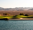 On the 10th hole of the Snow Mountain Course at Las Vegas Paiute Golf Resortn, a tee shot flirting with the left side will reward players with a shorter approach to the green.