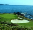 The 109-yard seventh hole at Pebble Beach Golf Links is one of the world's best short par 3s.
