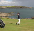 The first hole at Ardglass Golf Club delivers spectacular views from all angles.
