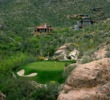 The third hole steals the show on the Mountain course at Ventana Canyon Golf & Racquet Club.