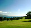 The first hole at Kahili Golf Course is a long par 4 up the hill.