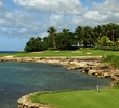 At 229 yards from the tips, the seventh on Casa de Campo's Teeth of the Dog course is one tough par 3.