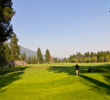 The par-5 10th hole on the Big Meadow Golf Course at Black Butte Ranch plays 535 yards.