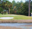 The par-3 12th is part of the three-hole Alligator Alley at the Dunes Golf and Beach Club.