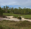The natural bunkering is one of the best features of Old Corkscrew Golf Club.