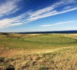 The par-4 10th hole on the Kittocks Course at the Fairmont St. Andrews plays away from the sea.