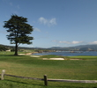 The view from behind the Lodge at Pebble Beach never disappoints.