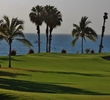 The third green on the Ocean nine kisses the shore at Palmilla Golf Club.