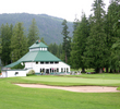 The clubhouse at Revelstoke Golf Club dates back more than a century.