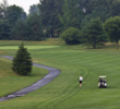 The opening hole is the shortest par 4 on the front side at Five Ponds Golf Club in Warminster, Pa.