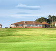 Like most classic Scottish links courses, the first tee at Nairn Golf Club is just steps beyond the back door of the clubhouse.