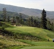 Rocky Mountain scenery is on full display at the Raven Golf Club at Three Peaks.