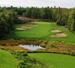 "The fourth hole (called ""Shorty"") is a signature moment at the Muskoka Bay Club in Gravenhurst, Ontario."