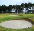 New sod bunkers are adding to the Scottish-links look Mystical Golf is trying to achieve at the Wizard Golf Club.