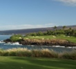 The signature par-3 third at Rees Jones-restored Mauna Kea Golf Course on the Big Island of Hawaii is one of the most beautiful holes in the world.