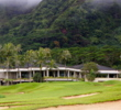 The Ko'olau Golf Club clubhouse also serves as the home of the First Presbyterian Church of Honolulu.