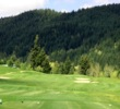 The first hole at Elk Ridge Golf Course is a straightaway par 4 that trudges up the hill.