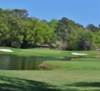 The par-3 sixth is one of the few at the Surf Golf & Beach Club featuring water.
