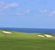 The Pacific comes into focus on the sixth hole at the Makai Golf Club.