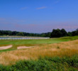 At 350 yards, the 18th at Inniscrone Golf Club isn't particularly difficult, a break from the two tough holes before it.