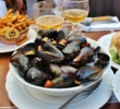 The mussels at Dominion Square Tavern in downtown Montreal taste fresh and fabulous.