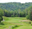 "The 15th hole on the La Bete golf course at Gray Rocks resort -- known as ""The March"" -- is a superb par 3."