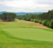 Sandy waste areas -- like these on hole 11 -- are what make Mont Tremblant Resort's Le Diable golf course so tough.