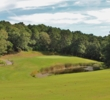 The par-5 eighth on the Port Course might be the signature hole at The Captains Golf Course, a 36-hole facility in Brewster, Mass.