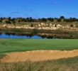 The ninth hole at Twisted Dune Golf Club is the first of back-to-back par 5s.